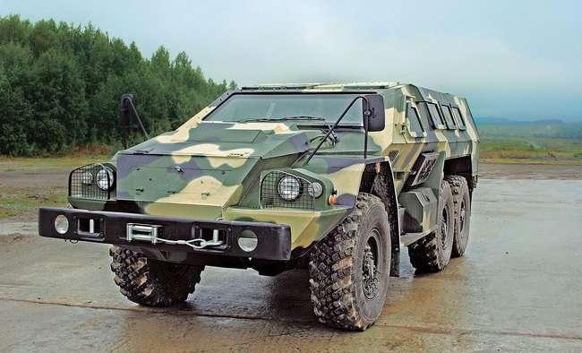 Россия завершила разработку специального бронеавтомобиля «Булат» СБА-60-K2