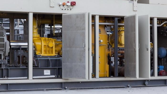 Дожимная компрессорная станция топливного газа от компании ЭНЕРГАЗ