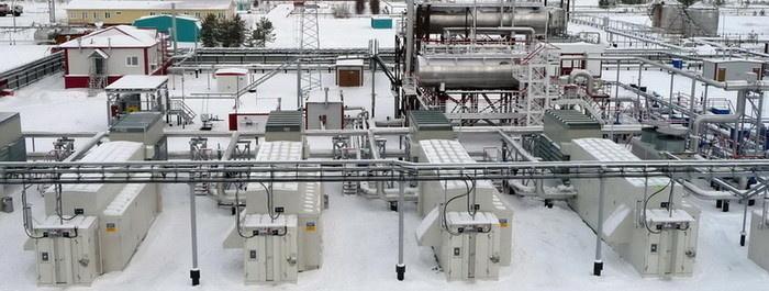 Алехинское месторождение (Сургутнефтегаз). На компрессорную станцию низких ступеней сепарации поступает ПНГ из нескольких источников