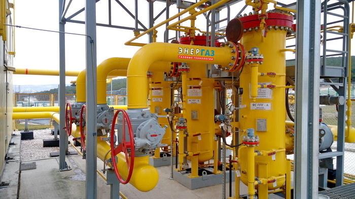 Система фильтрации в составе пункта подготовки газа