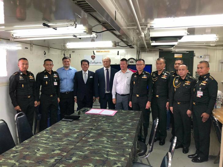 Армейская авиация Таиланда получила три российских Ми-17В-5
