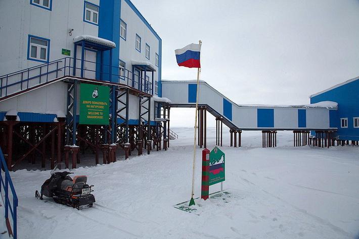 Самая северная пограничная застава России - Нагурское