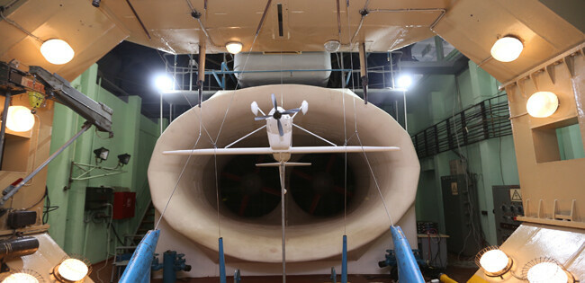 Новый легкий многоцелевой самолет проходит исследования в ЦАГИ