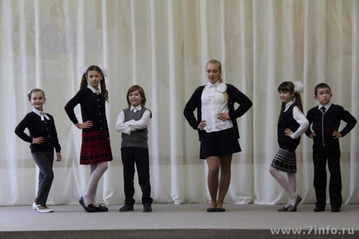 Рязанские предприятия представили модели школьной формы