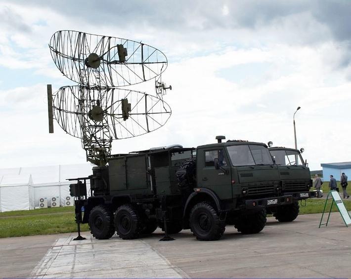 """Мобильная твердотельная радиолокационная станция """"КАСТА-2Е1"""""""