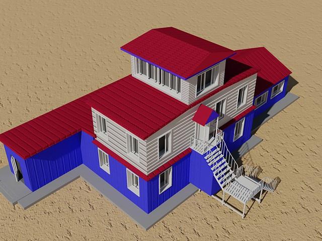 Проект здания аэровокзала Палана