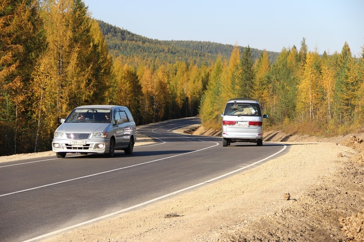 участок автодороги А-360 «Лена»