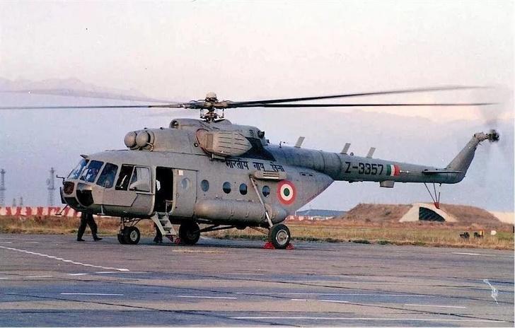 Россия отремонтировала шесть вертолетов Ми-17-1В для Индии