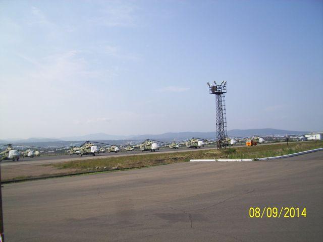Новые вертолеты на аэродроме Улан-Уденского Авиационного Завода