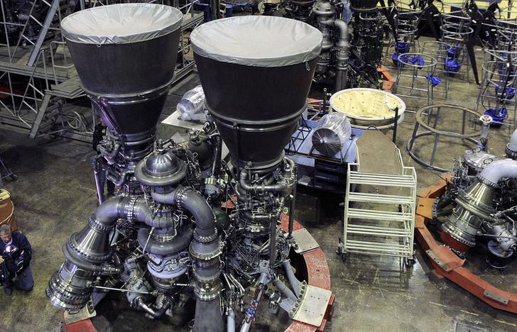 Ракетные двигатели РД-180. Фото © Алексей Филиппов