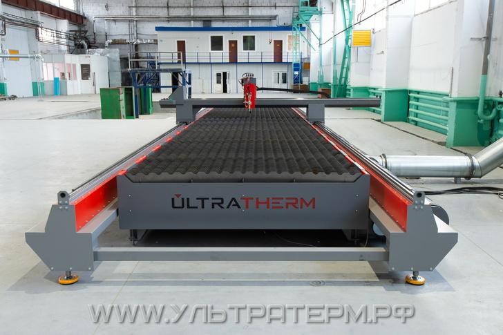 Станок плазменной и газовой резки ULTRATHERM MTRP-20120 (2000х12000мм)