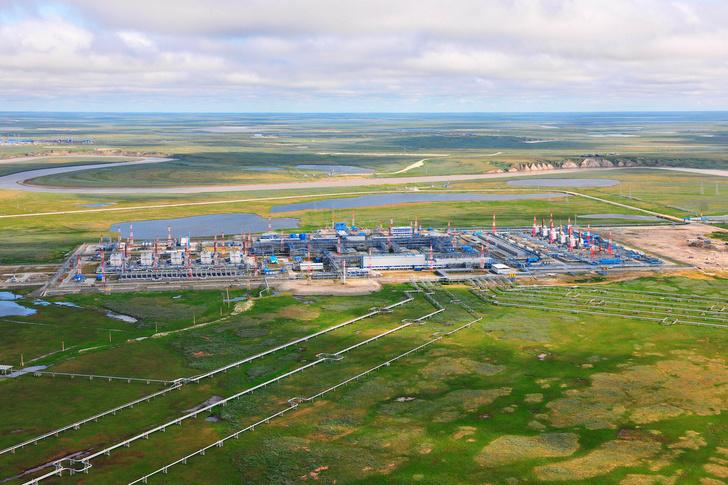Бованенковское нефтегазоконденсатное месторождение в ЯНАО