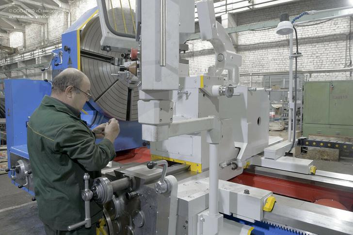 Тяжёлый специальный токарно-винторезный станок РТ317 (РТС317-3)