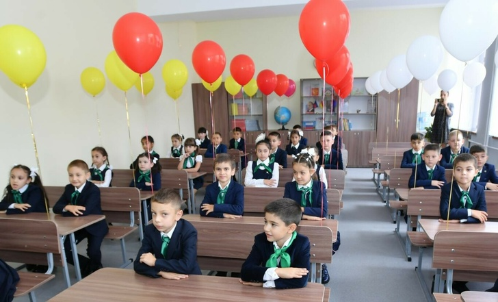В Северной Осетии во Владикавказе открыта новая школа на 500 мест