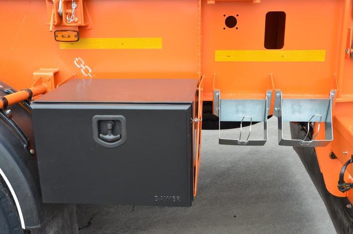 Инструментальный ящик на полуприцепе ТСП