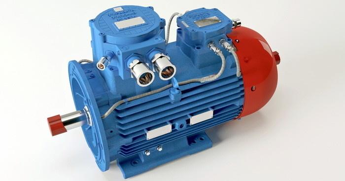Модернизированный асинхронный двигатель, предназначенный для эксплуатации во взрывоопасных зонах, нефтехимической промышленности, а также в подземных выработках
