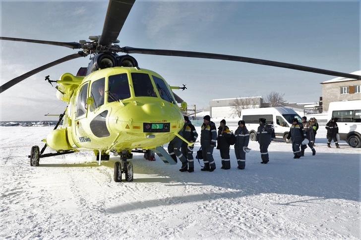 Новые вертолеты Ми-171А2 приступили к перевозке вахтовых бригад на месторождения Уватской группы