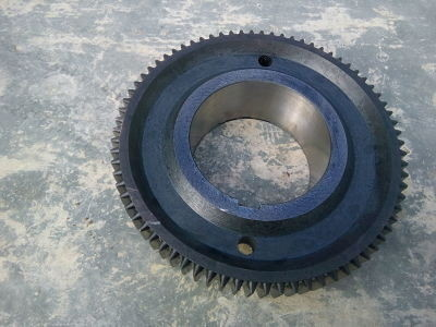 Зубчатое колесо седьмой оси (шпиндель) m-5 z-75 165.02.151 (Для станков 1М65 1Н65 ДИП500 165