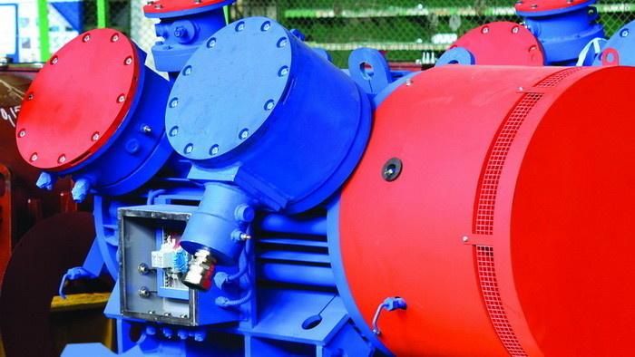 Взрывозащищенные электродвигатели с пониженным уровнем шума и повышенным КПД