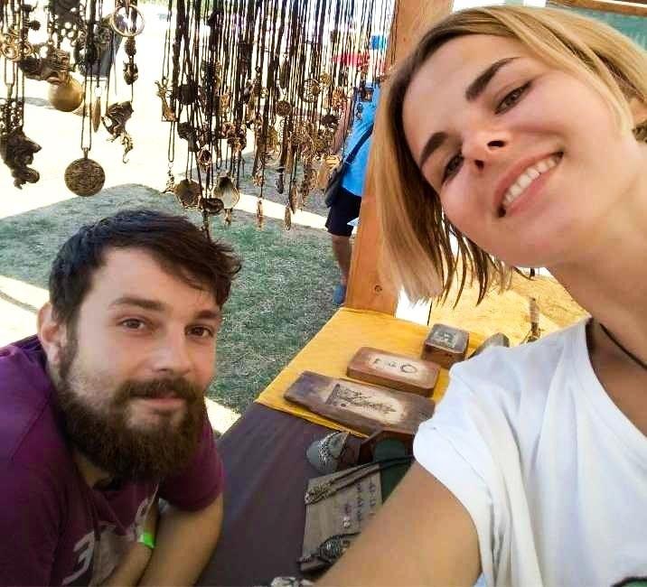 Леонид и Анна Медведик