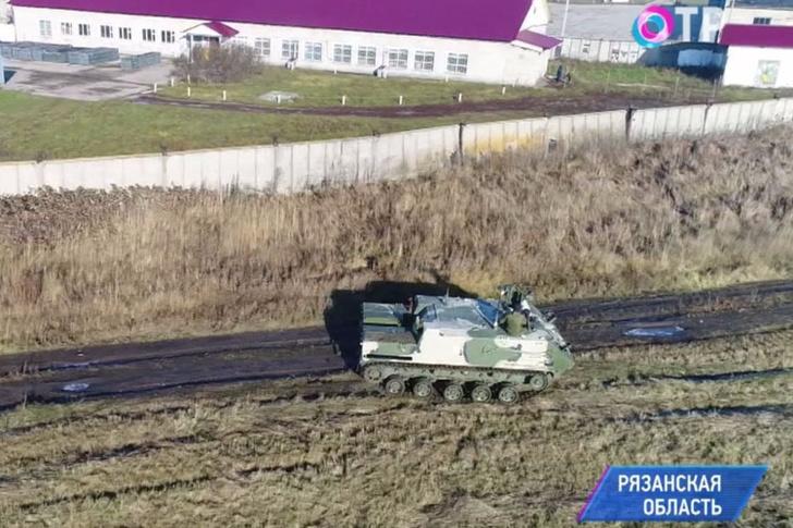 В Рязанской области протестировали машину химической разведки