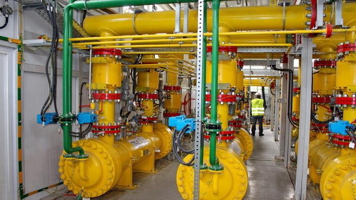 Технологическое оборудование пункта подготовки газа