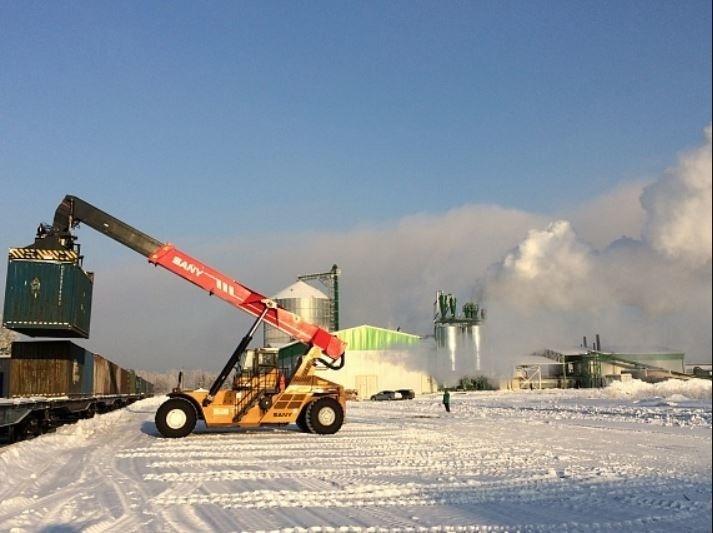 Новый завод Segezha Group в Красноярском крае отгрузил в Европу первую партию топливных гранул