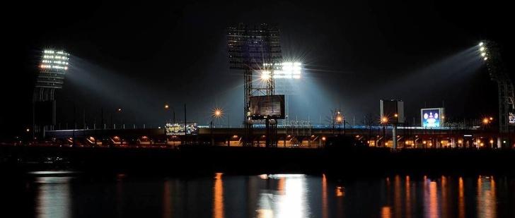 Освещение стадионов светодиодными светильниками