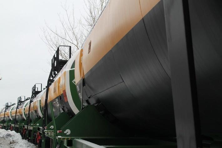 Среднеуральский медеплавильный завод обновил парк грузовых вагонов