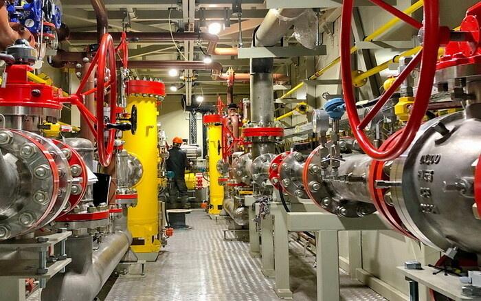 ППГ «ЭНЕРГАЗ» для ГТЭС-100 МВт Новополоцкой ТЭЦ