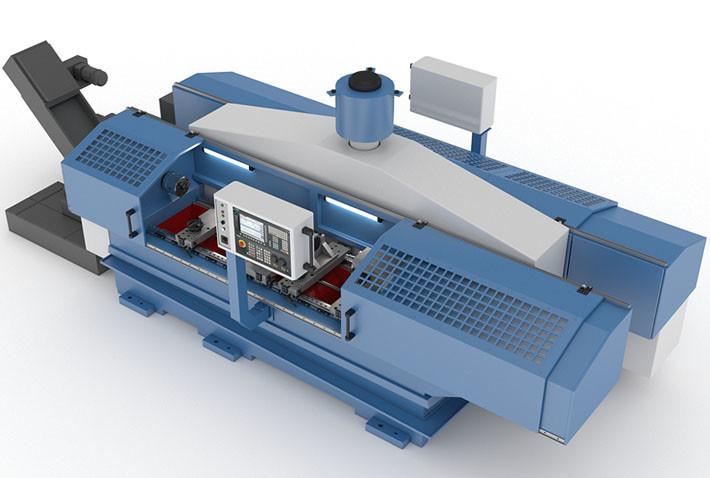 Cпециальный станок глубокого сверления с ЧПУ РТ533