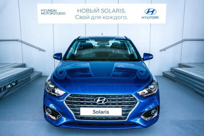 Завод Hyundai в Санкт-Петербурге начал серийное производство нового Solaris
