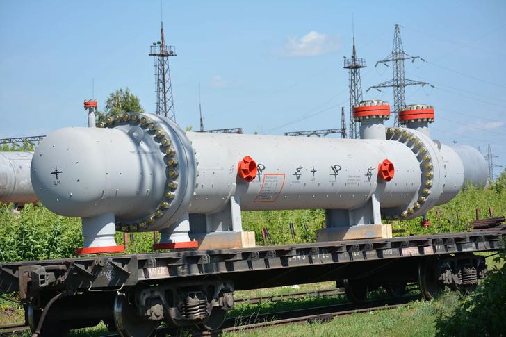 Кожухотрубный теплообменный аппарат Т-1 «Газ-Газ» Lotus для Чаяндинского НГКМ