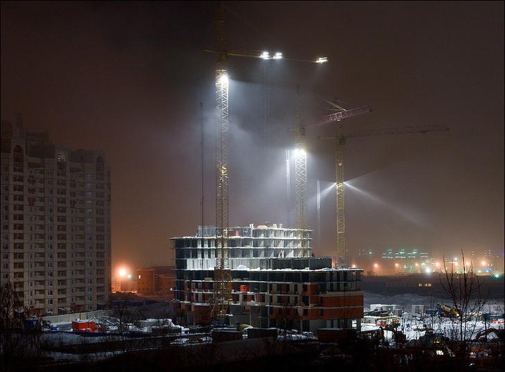 искусственное освещение строительных площадок