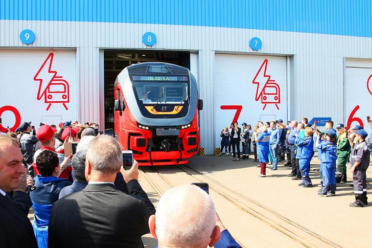 Трансмашхолдинг отправил три рельсовых автобуса РА-3 в Сахалинскую область