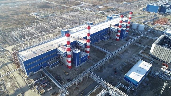 Третий блок Прегольской ТЭС в Калининграде ввели в эксплуатацию