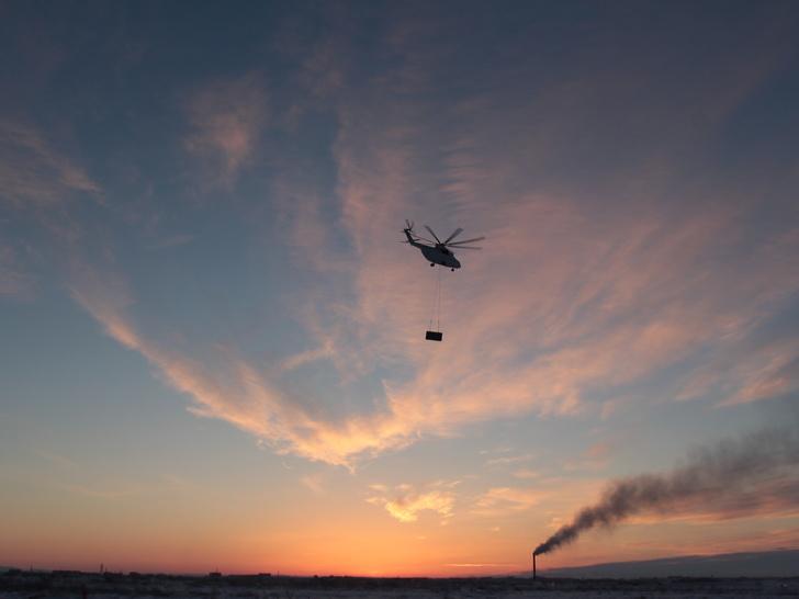 Доставка ПС-90ГП-2 вертолетом Ми-26Т/Фото ОДК