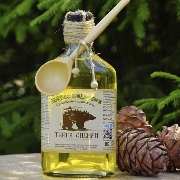 Кедровое масло из Красноярска