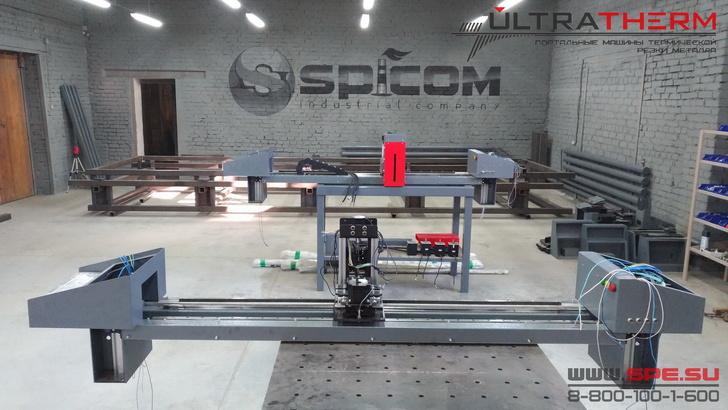Участок производства портальных машин ULTRATHERM