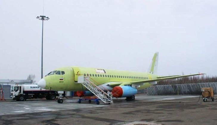 Сто пятидесятый самолет SSJ передан на летно-испытательную станцию