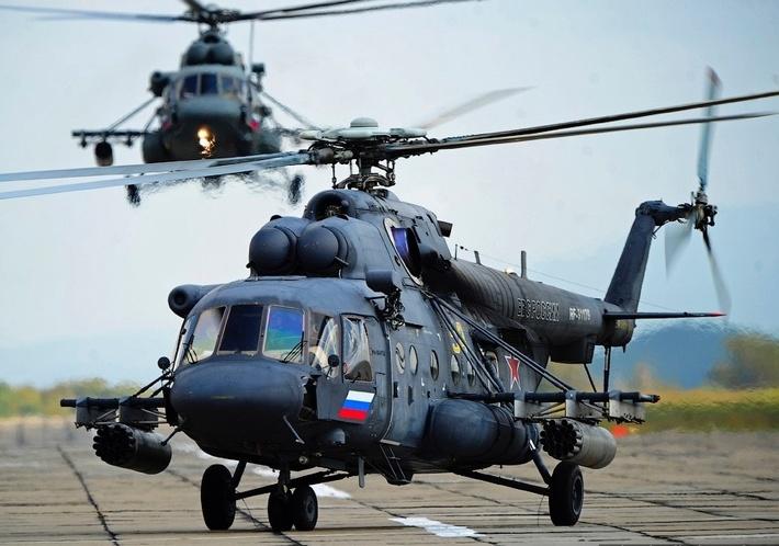 «Вертолеты России» досрочно поставили Минобороны РФ партию вертолетов Ми-8АМТШ