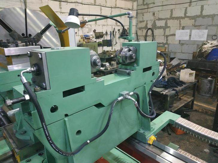 Специальный токарно-накатной станок мод. РТ917 РМЦ 3000мм.