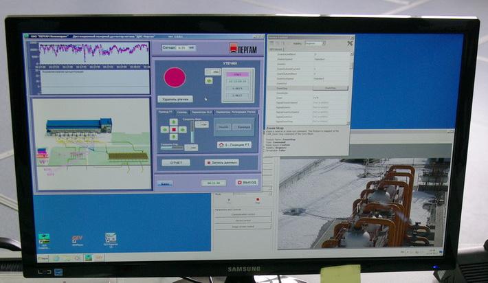 ПО управления детектором утечек природного газа