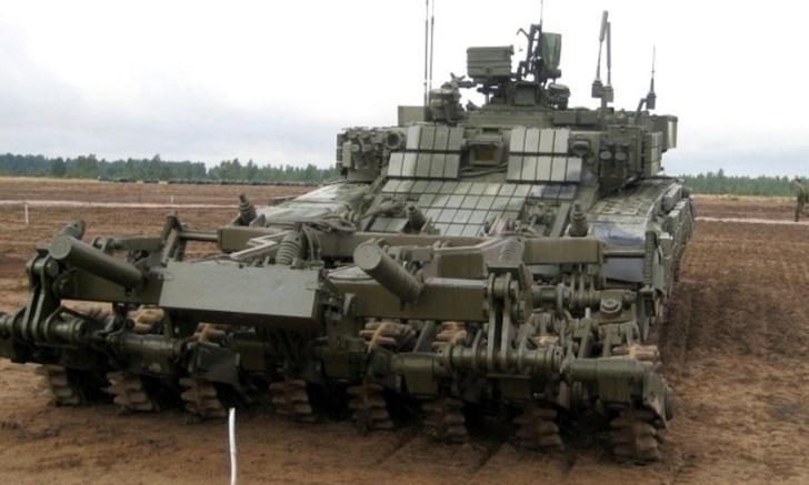 Машина разминирования БМР-3МА