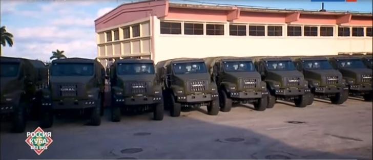 На Кубе в Манагуа собирают военные грузовики Урал NEXT