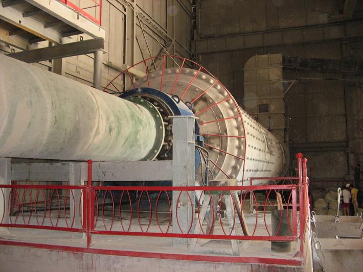Производственная линия по выпуску цемента на бахчисарайском комбинате