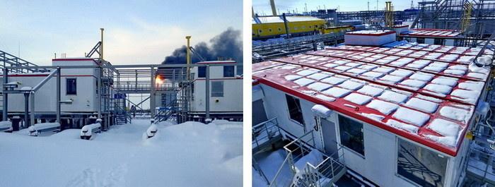 Многоблочная установка подготовки топливного газа для УКПГиК на Восточном Уренгое