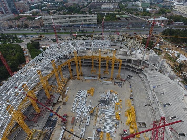 Фото парк со стадионом в волгограде открытки пейзажем