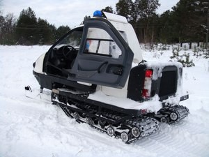 Снегоход с двухместной кабиной ТТМ-1901 «Беркут»