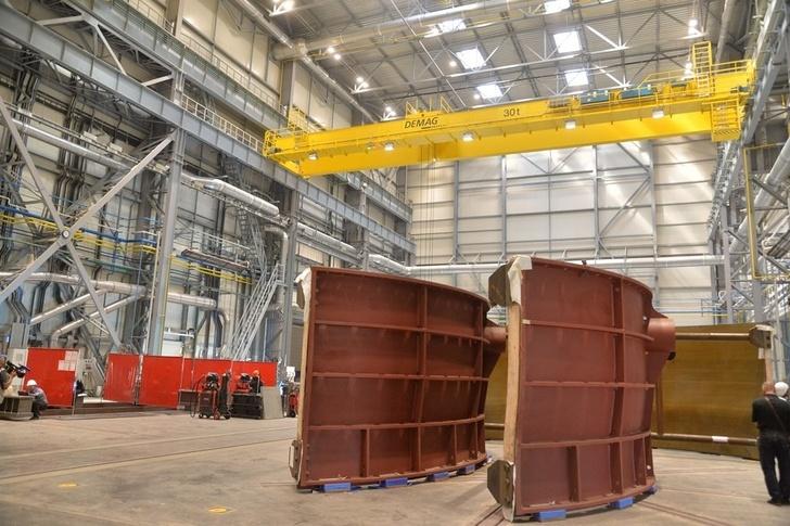 В Саратовской области запущен завод по производству компонентов турбин для гидроэлектростанции
